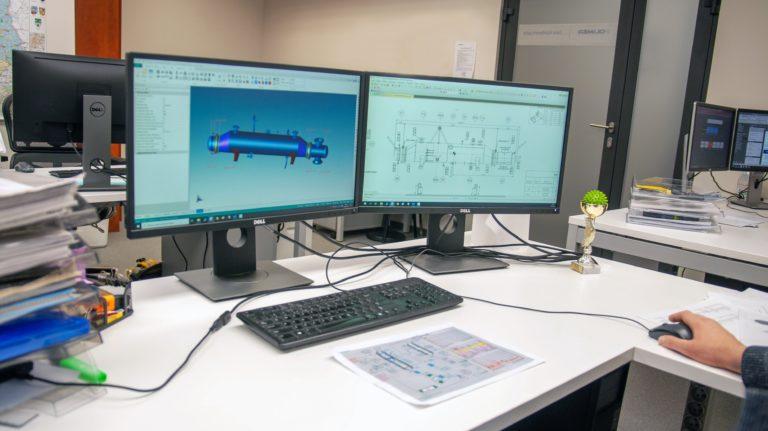 Projektowanie, ekspertyzy, analizy instalacji przemysłowych.