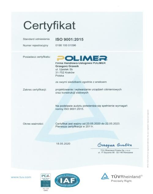 POLIMER_CERT_9001_pl
